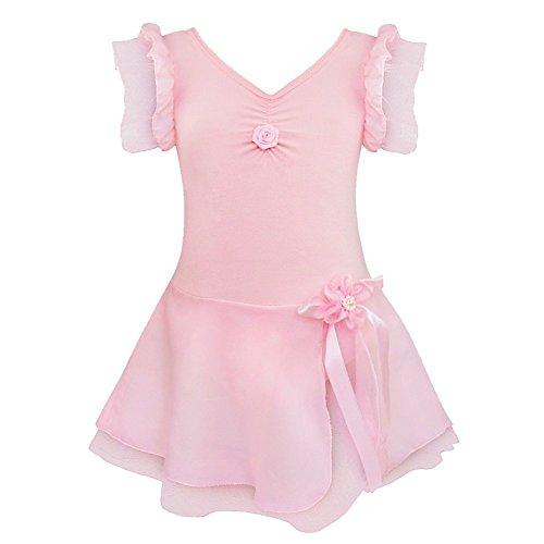 Seiltänzerin Kostüm Für Kinder - iEFiEL Kinder Ballettanzug Ballett Tütü Trikot