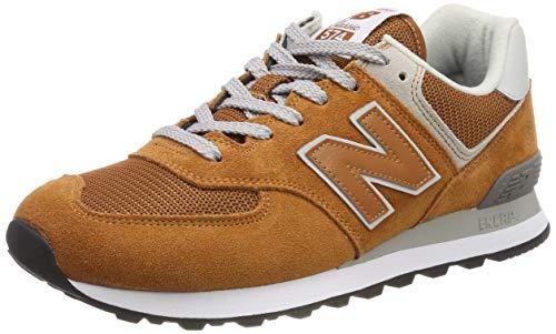 New Balance 574, Zapatillas para Hombre, Naranja (Canyon EPE), 41.5 EU (Talla Fabricante: 7.5 UK)