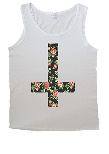 NisabellaLTD -  T-shirt - Uomo *Weiß XX-Large