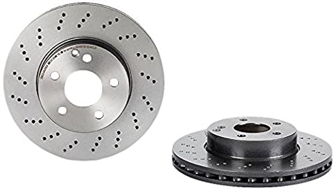 Brembo 09.A613.51 Front UV Coated Brake Disc - Set of 2