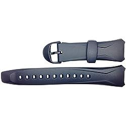 Casio Correa de Reloj Resin negro para WVA-104H WVA-104HA WVA-104HY WVA-104HE