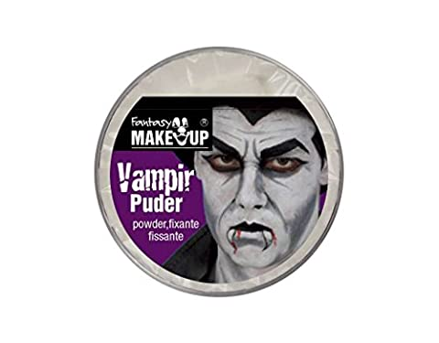 Poudre Blanche - Poudre fixante pour maquillage vampire dracula