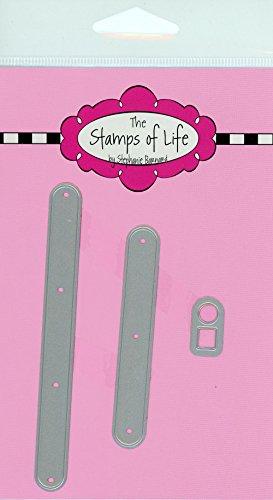 Die Briefmarken Of Life-Penny Regler, sterben für Karte machen Scrapbooking und DIY Basteln von Stephanie Barnard-Hintergrund Texturen