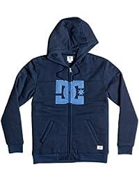 DC Shoes Rebel Star - Zip-Up Hoodie - Sweat à capuche zippé - Homme - M - Bleu