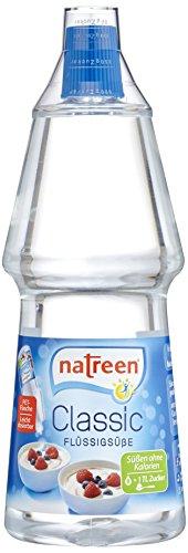 Natreen Feine Süße Flüssig 1000ml, 1er Pack (1 x 1 l)