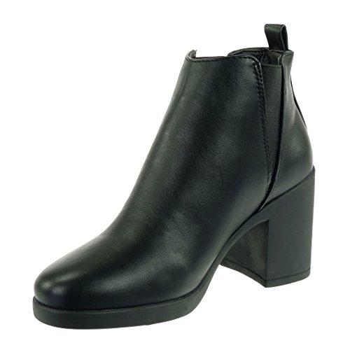 Angkorly damen Schuhe Stiefeletten Chelsea Boots Reitstiefel