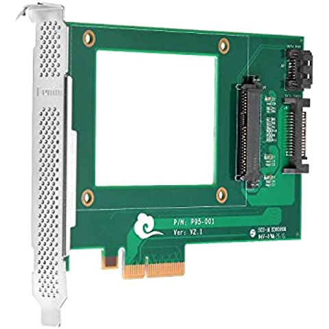 funtin NVMe PCIe SSD adaptador con U.2(SFF-8639) interfaz para NVMe SSD de 2,5