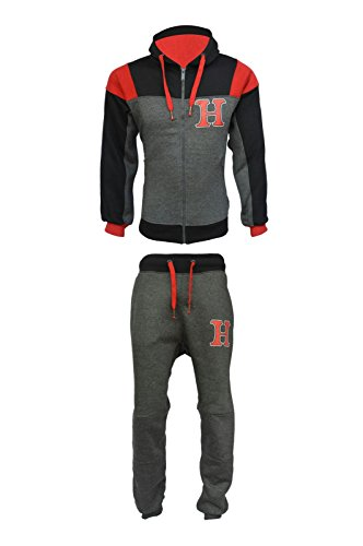 290gsm-mens-fleece-hnl-jogging-suit-hooded-tracksuit-quality-trousers-pants-tops-large-style-1-charc