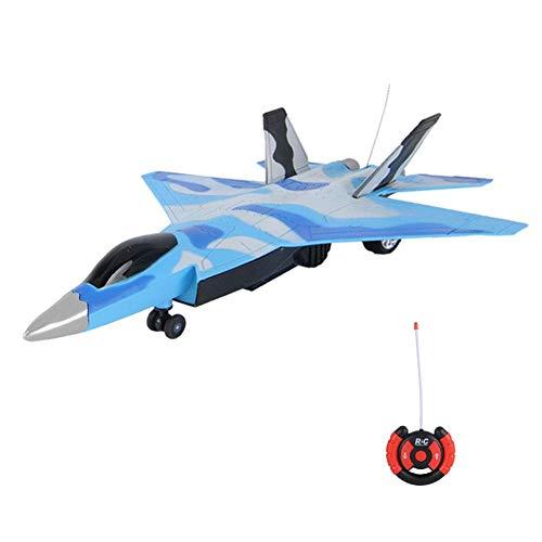 2.4GHz RC Flugzeug Spielzeug ferngesteuertes Air Force Flugzeug Kampf-Jet,Zwei Wege Militärflugzeuge Spielzeug mit Lichtern und Fernbedienung
