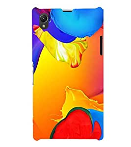 Fiobs Designer Phone Back Case Cover Sony Xperia Z1 :: Sony Xperia Z1 L39h :: Sony Xperia Z1 C6902/L39h :: Sony Xperia Z1 C6903 :: Sony Xperia Z1 C6906 :: Sony Xperia Z1 C6943 ( Colorful Pattern Design )