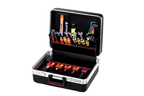 Prarat Werkzeugkoffer CLASSIC KingSize Power, Ordnungssystem CP-7 - 2 Schlüssel, 1 Längssteg 3 Querstegen, 49x41x33cm - 589.100.171 (ohne Inhalt)