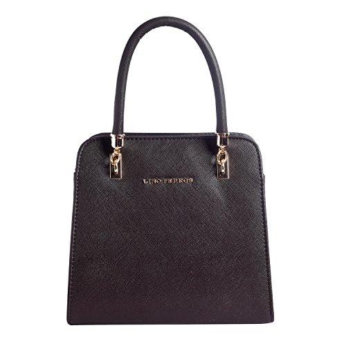 Lino Perros Women's Handbag (Brown) - B01M7ZWN01