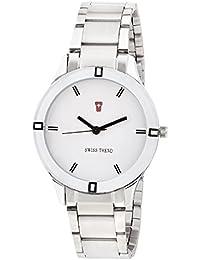 Swiss Trend Latest Design Silver Stainless Steel Women's Wrist Watch - OLST2279