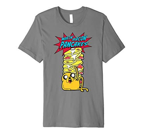 Offiziell Adventure Time Pancakes T Shirt