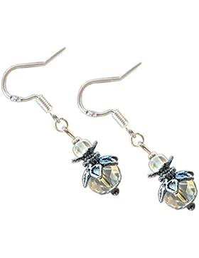 Katharina Fairytale Ohrringe Wunsch der Eisfee Perlen Ohrhaken aus 925er Sterling Silber