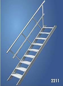 Hymer Treppe 10 Stufen Treppenbreite 1,0m