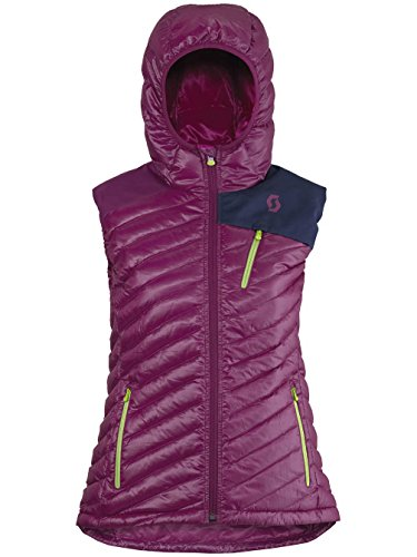 Scott Insuloft Explorair Down Vest gilet W's Purple purple