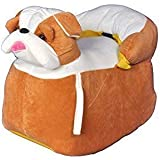 Shah Brothers Enterprises Toys Cute High Quality Soft Toy Chair | Seat For Baby Sitting | Soft Toy Chair For Kids Birthday | Love-able For Kids | Gift For Kids (Bulldog Chair, 43CM)