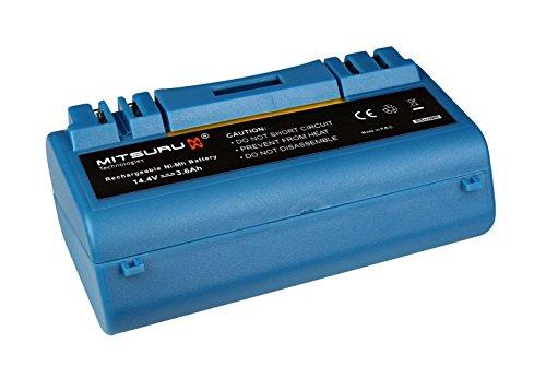 Mitsuru® 3600mAh Ni-MH 14,4V Akku Batterie für iRobot Scooba 385 330 340 350 385 590 5800 5806 5900 5910 5920 5930 5940 5950 5999 6000 34001