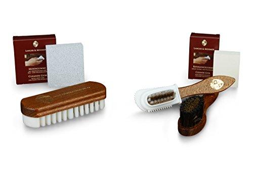 Schuhbürsten Kaps Exklusive Schuhbürste Eincremebürste aus Rosshaar für Schuhe