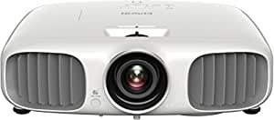 Epson EH-TW6100W 3D Heimkino 3LCD-Projektor (Full HD 1080p, Wireless, 2.300 Lumen Weiß & Farbhelligkeit, 40.000:1 Kontrast, 2x HDMI (1x MHL), inkl. 1x 3D Brille) schwarz