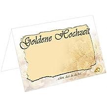 suchergebnis auf f r tischkarten goldene hochzeit. Black Bedroom Furniture Sets. Home Design Ideas