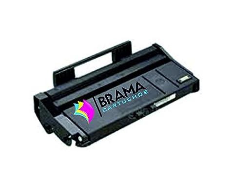 Bramacartuchos Cartouche compatible non OEM pour remplacer Ricoh 407166, compatible avec ricoh aficio sP 100E/sP112/sp112sue/sp112e/sp112sfe/SP112SF/SP112SU
