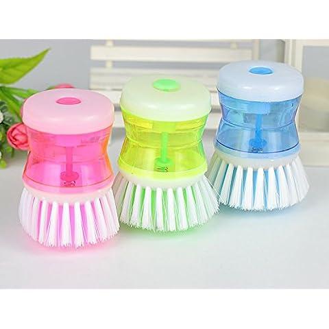 acquistare qui pennello lavare Detersivo Piatti Piatto Pulizia Cucina Pulizia brush-random color