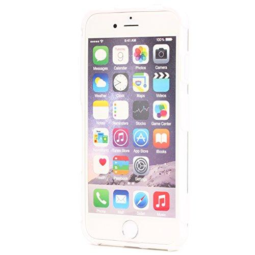 ORIGINAL Urcover® HARD Crystal SERIES Schutzhülle für das Apple iPhone 6 Plus / 6s Plus Handyhülle Etui [DEUTSCHER FACHHANDEL] Weiß Weiß