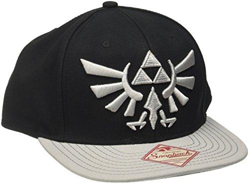 Legend of Zelda Logo Nintendo Snapback Cap Bacecap lizenziert sehr hochwertig
