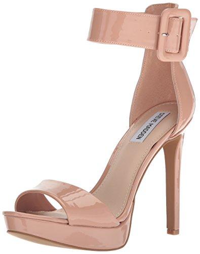 Steve MaddenCircuit - Schaltung Damen, Beige (Dark Blush Patent), 38 B(M) EU (Beige Sandalen Patent Damen)