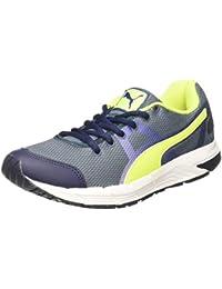 Puma Men's Hermes Idp Black-Silver-Royal Running Shoes