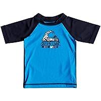 7bc52cecf7 Quiksilver Bubble Dream - Short Sleeve UPF 50 Rash Vest for Baby Boys