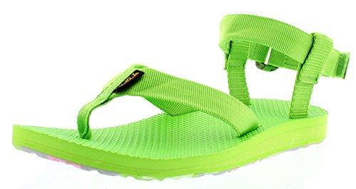 Teva Original Sandal Marbled W's, Sandales sport et outdoor femme Vert - Grün (703 jasmine green)