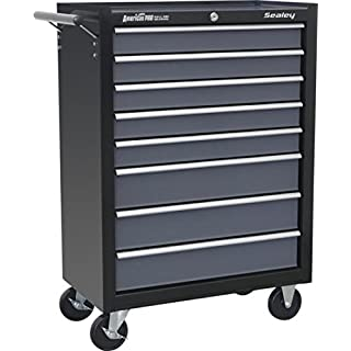 Sealey AP3508TB 8 Drawer Roll cab with Ball Bearing Runners - Multi-Colour