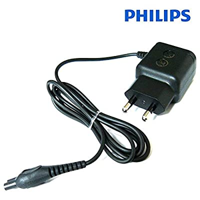 Genuine Philips Replacement 2 Pin EUROPEAN AC/DC Power Adapter HQ8505/D - Suitable for Philips Quadra/Sensotec/Arcitec/Speed XL/Smart Touch Mens Shavers - For Use in Continental Europe Only