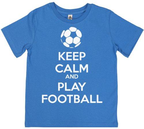 phunky-buddha-keep-calm-and-play-football-unisex-kids-t-shirts-9-11-yrs-blue