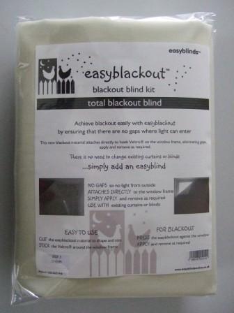 easyblinds Verdunkelungs-Kit, Polyester-Mischgewebe, cremefarben, S - Drape Kit