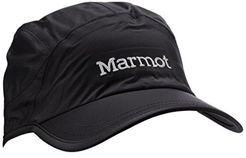 marmot-berretto-uomo-precip-baseball-unisex-kappe-precip-baseball-nero-taglia-unica