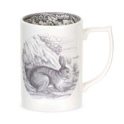 Spode Delamere Rural Rabbit Mug 0.35L/12fl.oz (1 x RABBIT MUG ONLY) by Spode