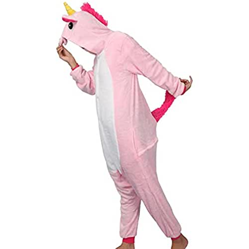 pijama de unicornio kawaii Colorfulworld Unicornio Anime Disfraces Kigurumi Trajes Disfraz Cosplay Animales Pijamas Pyjamas Ropa (S, pink)