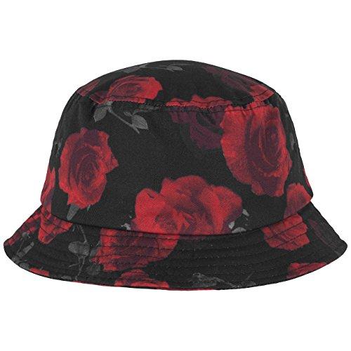 Flexfit Bonnet roses Compartiment A Taille unique Multicolore Multicolore - Noir/rouge