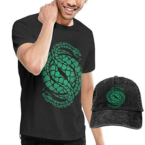 Gambits Kostüm - Knitkee Des-Tiny 2 Gambit Logo Herren Weich T-Shirt and Dicer Kombination Black 3XL