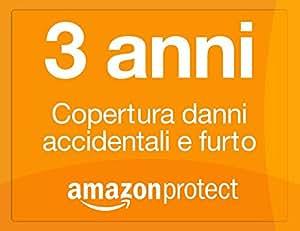 Amazon Protect 3 anni copertura danni accidentali e furto per videocamere da 50,00 EUR a 99,99 EUR