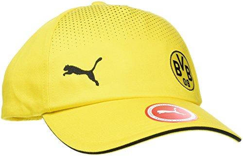 PUMA Bvb Cap, Cyber Yellow-Puma Black, OSFA