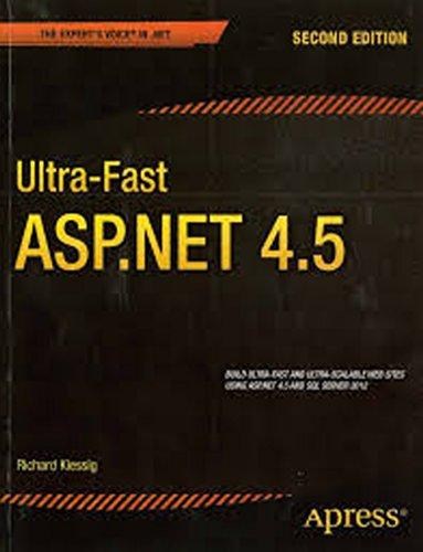 Ultra-Fast ASP.NET 4.5, 2ed