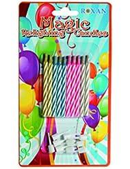 Velas mágicas 6 cm (10 uds)
