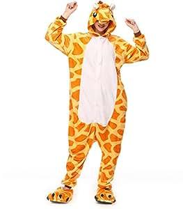 hot unisex costume carnevale Halloween Pigiama animali kigurumi cosplay Zoo onesies tuta