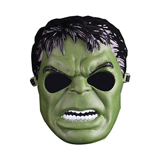 Weihnachten Halloween Kopfschmuck Junge Kind Erwachsene Cartoon Hulk Hulk Latex Maske