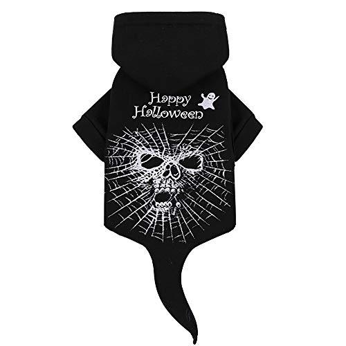 Siebwinn Netter Haustier-HundekatzeHoodie Kleidet Halloween Partei Kostüm-Versorgungsmaterialien für 4.25-6 kg pommerschen Maltesischen Welpen der Chihuahua (Lustig Pommerschen Kostüm)